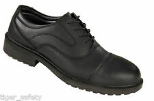 Tomcat Mayfair TC530 S3 SRC ESD Black Steel Toe Cap Oxford Safety Work Shoes