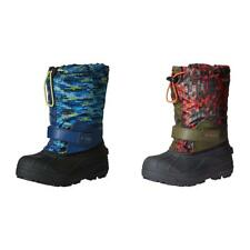 Columbia Boys Shoes Childrens Powderbug Forty Print Winter Boots