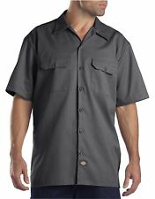 Dickies Charcoal 1574 Traditional Short Sleeve Work Shirt Size S-3XL NWT