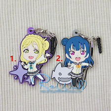 T429  Hot anime Lovelive Love Live! rubber Keychain Key Ring Rare Straps Cosplay