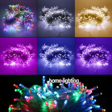 200/300/400/500 Leds Christmas String Fairy Lights Xmas Party Tree Shining CE UK