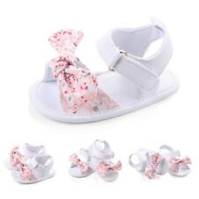 Baby Infant Toddler Shoes Girl Soft Sole Sandals Sneaker Bowknot Shoes Size0-12M