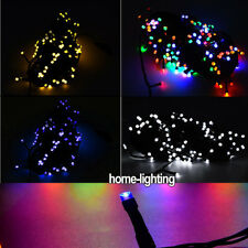 20M 200 LED Twinkling String Fairy Lights Indoor Outdoor Christmas Tree Cable UK