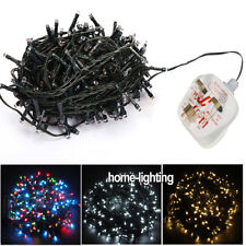 240V Bright LED Lights Fairy Light String For Christmas Wedding Party Green Wire
