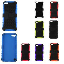 For Apple iPod Touch 5th 6th Gen Hybrid Rubber Protective Hard Case Cover