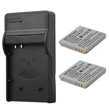 2x 1000mAh NB-4L Camera Battery W/Charger For Canon IXUS 50 55 60 65 80 100