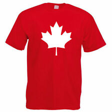 Canadian Maple Leaf T-Shirt - CANADA T-Shirt - Men's Gift Idea / For Him - RED