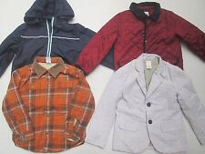 GYMBOREE boy Jacket 4 5 6 ~You Pick~ Shaket Quilt Blazer Wind Breaker FREESHIP