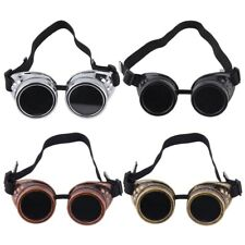 New Goggle Cyber Steampunk Glasses Vintage Retro Welding Punk Gothic RE