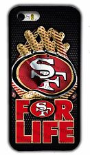 NEW SAN FRANCISCO 49ERS NFL RUBBER PHONE CASE FOR IPHONE 4S 5S 5C 6S 6 7 PLUS