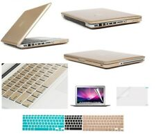 """MacBook Pro 13"""" A1278 Rubberized Hard Case + Keyboard Cover + Screen Protector"""