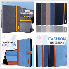 New Jeans Denim Smart Case Leather Cover Stand For iPad Air2 iPad 6/5 4/3/2 Mini