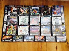 PS1 PLAYSTATION ONE GAMES - Retro Classic Original PAL
