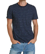 NEW JAG MENS Indigo Stripe Tee T-Shirts