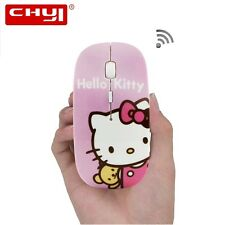 Hello kitty Wireless Mouse 2.4 GHZ With 1600dpi Adjustable Optical FREE SHIPPING