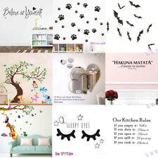 DIY Removable Art Vinyl Quote Wall Sticker Decal Mural Home Room Decor Hot