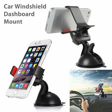 Universal Car Windshield Dashboard Suction Mount Holder Cradle for Cellphone GPS