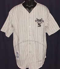 Vintage 90s Chicago WHITE SOX JERSEY COOPERSTOWN Sewn LOGO NWT New Old Stock NOS