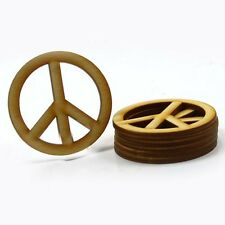 Peace Sign - 2 inch x 1/8 unfinished wood (PEAC03)
