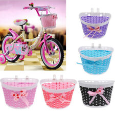 Bicycle Pannier Kids Junior Bike Front Shopping Basket for Children Cycle