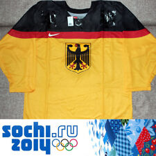 Men's Official Hockey Jersey Germany Olympic Team Sochi Russia 2014