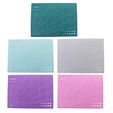 A4 Cutting Mat Double Sided Self-Healing Non Slip Craft Scrapbook Quilting Board