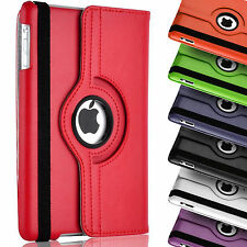 Leather Tablet 360 Degree Rotating Smart Stand Case Cover Apple iPad 2 3 4
