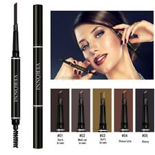 Auto Rotation Eyebrow Pencil Long Lasting Eye Brow Liner Pen+Brush 2 in 1 Makeup