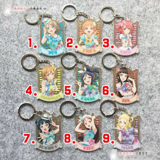 T295 The lovelive Love Live acrylic Keychain Key Ring Rare