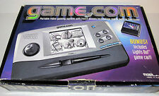1997 Tiger Game.com Portable Video Gaming System w/Box + Lights Out Game TESTED