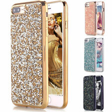 Luxury Bling Hybrid Glitter TPU Protective Hard Case Cover For iPhone 7 / 7 Plus