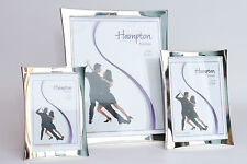 Silver Plated Alloy Photo Frames. Theresa by Hampton frames