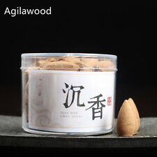 Special Agilawood sandalwood Incense Piece Cones Box for Backflow Incense Burner