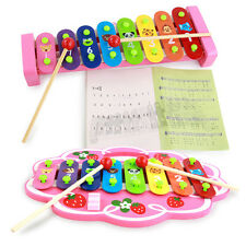 Varies Baby Toys Early Education Music Teaching Hand Knock Piano Wooden Toy
