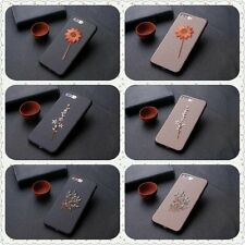 Ultra-Thin Luxury Embroidery Soft Case Easy Cover For Apple iPhone 7 6S 6 Plus