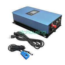 1KW 2KW Grid Tie Solar Power Inverter on Grid MPPT / Limter DC 22/45V TO 65/90V