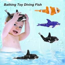 Children Bath Toy Whale/Dolphin/Fish Gift Diving Fish Swims like Real Fish BABA