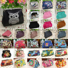 Girls Women Mini Clutch Bag Wallet Change Coin Key Card Purse Holder Small Pouch