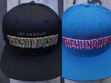 New The Hundreds Skate Los Angeles HDR Huge Logo Mens Snapback Hat One Size Fit