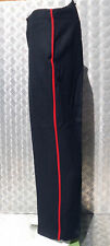 Genuine British Army Royal Marines / Footguards Black Wool Dress Trs - All Sizes