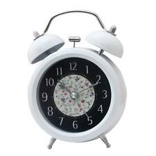 3'' Twin Bell Alarm Clock Analog Quartz Night Light Loud Awake Desk Clock
