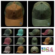 Plain Baseball Cap Mesh Fashion Trucker Casual Hat Trucker Vintage Ball Caps