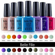 BELLE FILLE Soak Off Gel Polish UV LED Lamp Nail Art Manicure DIY Varnish 10ml