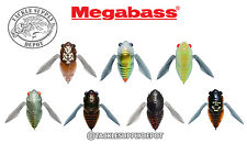 Megabass Grand Siglett Cicada Bug Crawler Topwater 1 2/3in 1/4oz - Pick