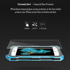Shockproof Waterproof Aluminum Metal Gorilla Glass Case Cover for iPhone&Samsung