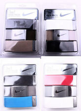 Men's Nike 3 in 1 Web Belt Pack One size fits all up to 42''
