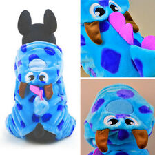 Winter Warm Cute Pet Clothes Puppy Dog Cat Hooded Jumpsuit Coat Jacket Sweater