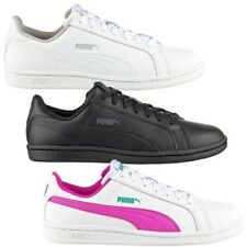 Puma Women's Sneakers Smash Fun Leather Shoes Casual Shoes Trainers Leather NEW