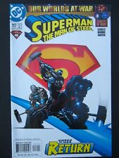 Superman:The Man of Steel #117,118,119,120 Lot of 4 NM- 2001 High Grade DC Comic