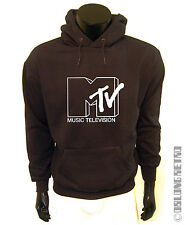 Stylish Retro MTV HOODIE - 80's / 90's Emo Indie Music television - rock rap